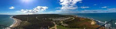 Montauk Point Lighthouse view (Don Mosher Photography) Tags: lighthouse landscape seascape ocean long island montauk newyork