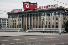 Kim Il Sung Square in Pyongyang, North Korea (DPRK) (tommcshanephotography) Tags: adventure asia communism dprk democraticpeoplesrepublicofkorea expedition exploring kimilsung kimjungil kimjungun northkorea pyongyang revolution secretcompass travel trekking