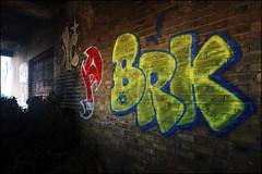 Cave / Priest / BRK (Alex Ellison) Tags: cave priest cbm brk trp therollingpeople abandoned derelict urbex hackneywick eastlondon urban graffiti graff boobs