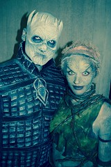 DSC_0637 (Randsom) Tags: nycc 2016 newyorkcomiccon nycomiccon javitscenter october nyc newyorkcity cosplay costume fun comicbooks comicconvention halloween spooky monster ghoul nightsking childrenoftheforest gameofthrones hbo makeup eerie creature couple contacts fantasy got portrait