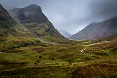 Glencoe in all it's beauty. (Ian Emerson (Thanks for all the comments and faves) Tags: scotland glencoe mountains hills mist rain weather hiking 3sisters nationaltrust greenery outdoor landscape stunning view 1018mm canon