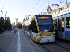 Debrecen (mostlybytrain) Tags: mav tram strassenbahn