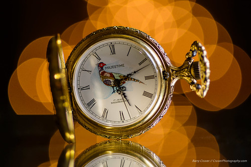Bokeh Pocket Watch by Barry Cruver, on Flickr