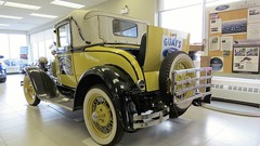 1931 Ford Model A Deluxe Roadster at Gays Garage located in Val Gagne North Eastern Ontario Canada (Gerald (Wayne) Prout) Tags: 1931fordmodeladeluxeroadster gaysgarage valgagne northeasternontario canada prout geraldwayneprout canon canonpowershotsx50hs 1931 ford modela deluxe roadster gays garage ontario northernontario ontarione northeastern northern