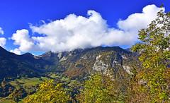 La tte dans les nuages (Diegojack) Tags: paysages france montagnes alpes hautesavoie automne couleurs biot corbier