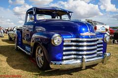 Battlesbridgce Classic Cars (Juanito Moore ( John Moore )) Tags: chevrolet low side truck usa american classic car battlesbridge restored blue paint import pick up