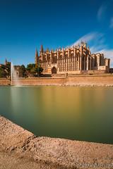 """La Seu"" Cathedral Palma de Mallorca (buddsnax) Tags: majorca mallorca cathedral longexposure le santamariaofpalma bluesky laseu balleric bigstopper mediterranean"