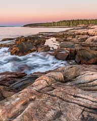 Ship's Harbor (59roadking - Jim Johnston) Tags: ifttt 500px acadia maine ocean national park water sunrise sea sky rocks trees travel waves long exposure seascape autumn fall