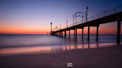 Another Sunset At Brighton (jrazarcon) Tags: brighton southaustralia australia au nikond810 afs nikkor 20mm f18g ed john azarcon jrazarcon photography sunset outdoor ocean sea rocks landscape jetty longexposure leefilters sand springs adelaide