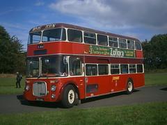 861 @ Donington Park (ianjpoole) Tags: bartons northern counties dennis loline 861hal 861 showbus 2016 donington park