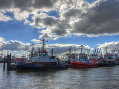 Tugs Hamburg (zimmermannj6673) Tags: hdr hamburg harbor