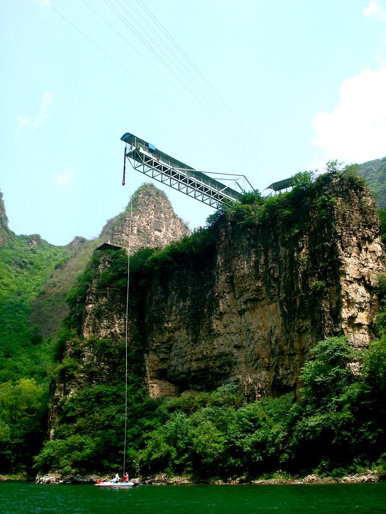 Hẻm núi Longqing ở Bắc Kinh, Trung Quốc