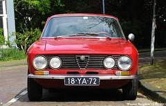 Alfa Romeo GT 1300 Junior 1973 (XBXG) Tags: auto old italy holland classic haarlem netherlands car vintage italian automobile italia nederland voiture junior alfa romeo gt alfaromeo paysbas coupe 1973 italie coup ancienne 1300 italienne 18ya72