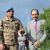 With Major General Luciano Portolanon during the symbolic Plantation of a #Cedar Tree at #UNIFIL in remembrance of #Lebanon Martyrs & Independence #YoussefSfeir