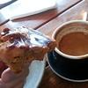 Perfect #breakfast #goodcoffee and #homemadecookies #peanutbutter... (nick_komo) Tags: breakfast cookie peanutbutter northcote bakeshop goodcoffee homemadecookies saltedcaramel uploaded:by=flickstagram instagram:photo=751738031047247196347368648