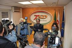 Conferência de Imprensa após reunião com TSD