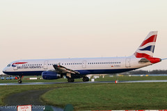 British Airways Airbus 321 G-EUXJ EIDW 071214 (gerrykane214) Tags: ireland dublin canon eos airport december aviation 321 international commercial airbus british airways 2014 eidw geuxj