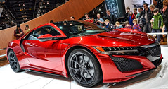 2016 Acura NSX (Chad Horwedel) Tags: red chicago illinois import acura nsx sportscar chicagoautoshow acuransx 2016acuransx