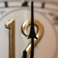 2015-01-01b (01b/365) Happy New Year! (lundyd) Tags: clock closeup time panasonic midnight happynewyear davelundy olympus75mmf18lens olympusm75mmf18 dmcgh4