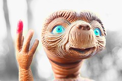 E.T the alien. (Jason Garofolo) Tags: classic canon vintage movie toy photography iso100 photo cool good 5 85mm noflash aliens f45 imagination 24mm t3 et f4 twitter twittertuesdays twittertuesday