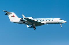 558 - Royal Air Force of Oman - Gulfstream IV (5B-DUS) Tags: plane airplane airport lca force aircraft aviation air jet royal international flughafen oman flugzeug iv spotting gulfstream larnaca 558 planespotting luftfahrt larnaka giv glf4 lclk