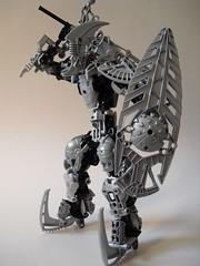 Noblesse Silver (bionitech101) Tags: lego bionicle mocs bionitech