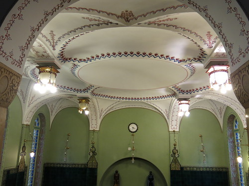 Ceiling of Subotica Town Hall