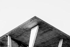 roof (Daniel Czichowsky) Tags: roof blackandwhite bw geometric canon eos miami mia dach schwarzweis 70d sigma18250