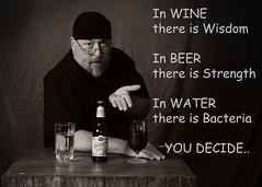 SMILE 59 (cptesco) Tags: water beer wine randy strength wisdom bacteria decide randle mcbay