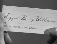 no title (annacarvergay) Tags: handwriting calligraphy namethatfilm 1939 cursive alexanderhall arthurtodd arthurltodd