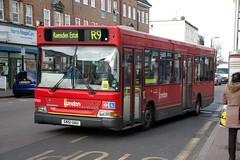 27 February 2015 Orpington (9) (togetherthroughlife) Tags: bus kent february metrobus orpington 2015 r9 sn51uau ldp205