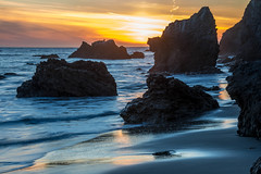 Malibu Sunset! Red, Yellow, Orange Clouds! Magical El Matador Beach Sunset! Nikon D810 HDR Photos Dr. Elliot McGucken Fine Art Photography!  14-24mm Nikkor Wide Angle F/2.8 Lens (45SURF Hero's Odyssey Mythology Landscapes & Godde) Tags: sunset seascape beautiful beauty landscape nikon gorgeous fineart wideangle malibu pch nikkor elliot f28 hdr fineartphotography pacificcoasthighway mcgucken bikinimodel d810 swimsuitmodel malibusunset 45surf wideanglezoomlens 1424mm nikon1424mmf28g nikon1424mmf28gedafsnikkorwideanglezoomlens edafs elliotmcgucken drelliotmcgucken d810nikon herosodyssey fineartphotorgapher
