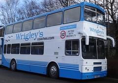 Halifax (Andrew Stopford) Tags: volvo citybus wrigleys b10m50 alexanderrv hanleycrouchcommunityassociation f51rye