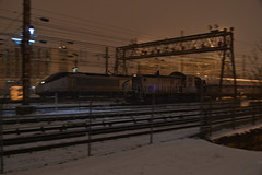 Amtrak #569 and #2000 (repowers) Tags: snow night dc washington trains amtrak engines unionstation locomotives