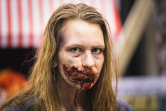 Walker Stalker Con - 2015 (SauceyJack) Tags: portrait chicago face television walking dead costume illinois cosplay zombie makeup saturday il walker fantasy convention stalker horror navypier tvshow elgin amc walkers con pretend televisionshow specialeffectsmakeup 2015 walkingdead thewalkingdead effectsmakeup lr5 lightroom5 canon1dx 7020028isiil sauceyjack nightmareonchicagostreet walkerstalkercon wsscchicago