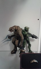two of my most treasured instruments. (Mr rammlied) Tags: halo figures halofigures