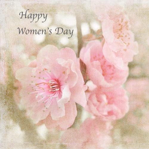 HAPPY WOMENS DAY .. DEAR FLICKR WOMEN FRIENDS