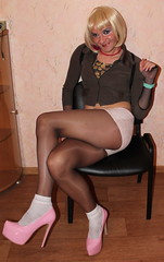 302 (ilonamf) Tags: pink sexy panties highheels slut platform makeup prostitute hose sissy bitch transvestite heels shorts whore hooker pantyhose crossdresser crosdresser crossdrsser crodresser girlyboys