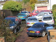 Busy driveway (GoldScotland71) Tags: