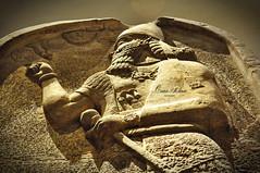 The great Ashurnasirpal II (Sumer and Akkad!) Tags: king iraq stele britishmuseum mesopotamia stela assyrian ashurnasirpal neoassyrianperiod cuneiforminscription