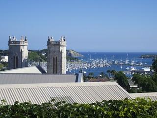 Nouméa, Cathédrale St Joseph & Port Moselle