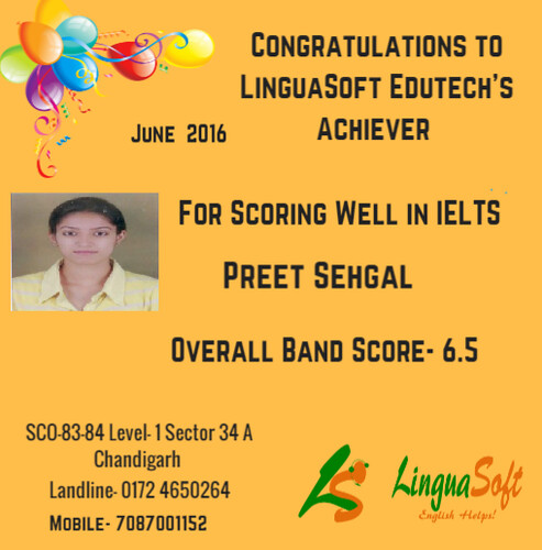 Preet Sehgal _ IELTS Band Score 6.5