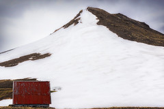 Red Hut (Raw Perfection Photography) Tags: red hut iceland snow island