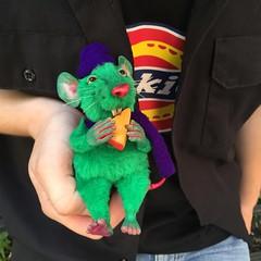 #green #toy #arttoy #toys #handmade #art (Polina Antonova) Tags: green toy arttoy toys handmade art