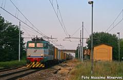 E655.225 TI/CARGO (Massimo Minervini) Tags: e655 e655xmpr e655225 tc veronaqespezia containers msc gazzo pievesangiacomo cremona railways rail trenomerci canon400d