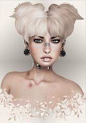 Amacci-Gift ([] Nieor Svir []) Tags: woman meshbodylara style lotd poetic maitreya fashion hair blogging sl secondlife logo meshhead alterego hairfair16 personen portrt amacci