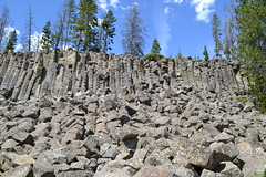 Sheepeater Cliff (inkenbrandt) Tags: yellowstone basalt columnarjointing