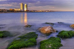 The_stillness_of_the_sea barcelonetabeach #sea #catalunya #spring #seascape #landscape #landscape_captures #landscapephotography #mediterranean #barcelona #bcn #barceloneta #barcelonetabeach (Carlos Manzanera) Tags: barcelona sea seascape landscape spring mediterranean bcn barceloneta catalunya landscapephotography barcelonetabeach landscapecaptures