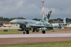 RIAT departure day (Dougie Edmond) Tags: plane airplane teams display aircraft military airshow german airforce raf fairford luftwaffe riat raffairford