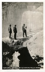 [IDAHO-B-0159] Snake River - Shoshone Falls (waterarchives) Tags: idaho snakeriver river realphotopostcardrppc shoshonefalls falls